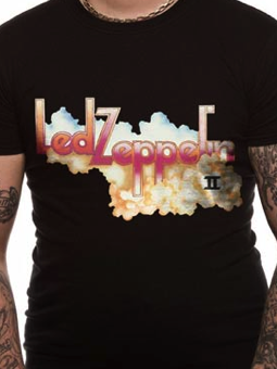 Cid Led Zeppelin - Logo And Cloud Large