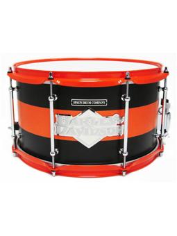 Spaun Drum Co. Maple 8x14 Snare Drum - Harley Davidson Badge