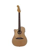 Fender Sonoran SCE, Left Hand, Cutaway Electric