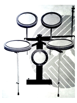 Remo REMO RP-0200-00 - Drum Practice Set