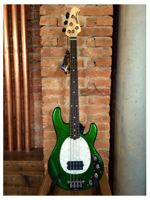 Music Man Stingray 4 Emerald Green Sparkle Rw