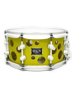 Spaun Drum Co. Swiss Cheese 13