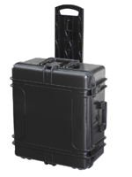 Plastica Panaro Max60J250TR Black + Trolley