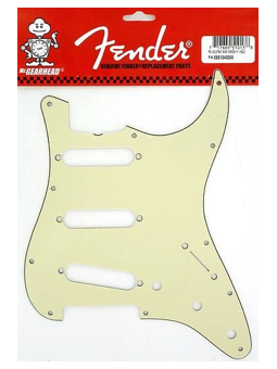 Fender Pickguard Stratocaster Mint Green