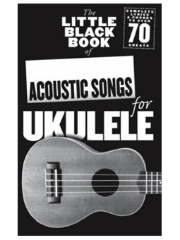 Volonte LITTLE BOOK OF ACOUSTIC SONGS FOR UKULELE