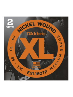 Daddario EXL160 2-Set