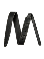 Fender Artisan Crafted Leather Strap Black