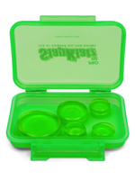 Slapklatz SlapKlatz Pro - Sordine in Gel per Batteria - Drum Damper Gel Pads - Alien Green