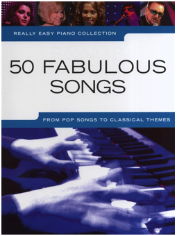 Volonte REALLY EASY PIANO COLLECTION 50 FABULOUS SONGS