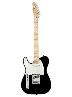 Fender Mex Standard Telecaster Left-Handed Black Mn