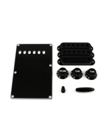 Allparts PG-0549-023 Kit for Stratocaster Black