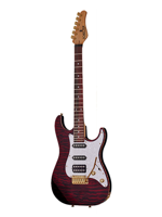 Schecter Sunset Custom Hss Black Cherry