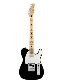 Fender Mex Standard Telecaster Black Mn