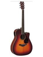 Yamaha FGX720SCII Brown Sunburst