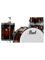 Pearl Limited Edition Mahogany Jazz Set Vintage Burl Mahogany Burst 3 Shells Pack