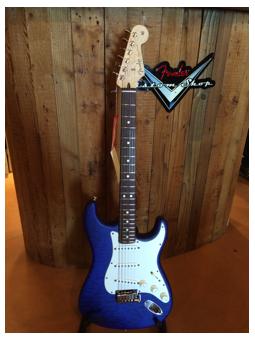 Fender Custom Shop Deluxe Stratocaster Cobalt Blue