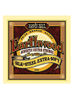 Ernie Ball 2047 - Earthwood Silk & Steel Extra Soft