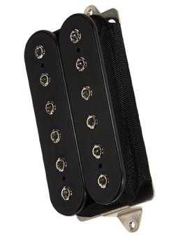 Dimarzio DP253FBK Gravity Storm Bridge Black F-Spaced