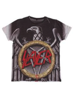 Rock Off SLAYER Silver Eagle Sublimation XL