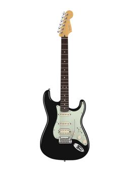 Fender American Deluxe Strat HSS, Black Rw