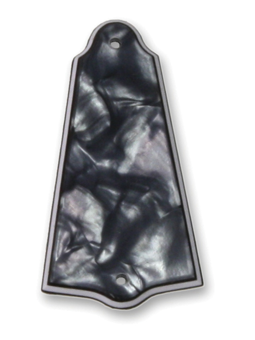 Allparts PG-0485-053 Truss Rod Cover Black Pearloid