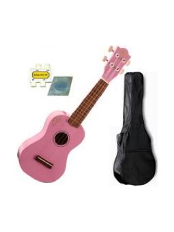 Eko Ukulele Soprano Pink