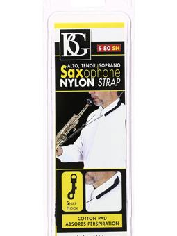 Bg S80SH Nylon Saxophone Strap
