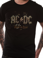 Cid T-SHIRT AC/DC Rock or Bust TG S