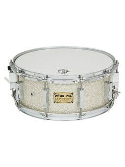 Pork Pie Maple Snare Drum 14x5 Silver Glass