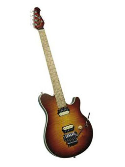 Music Man Axis - tobacco burst