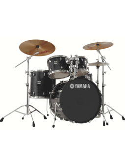 Yamaha New Stage Custom + Hardware HW780 - Raven Black (SET EXPO)