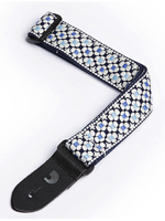 Planet Waves Nylon Ukulele Strap - Blue Flowers