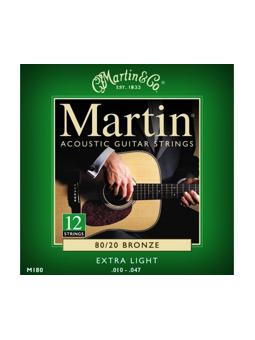 Martin M180 Extra Light 12 String