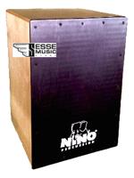 Nino NINO9525NT-BK - Cajon