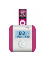 G&bl MP3 portable Dock Pink