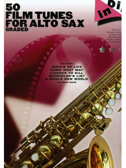 Volonte 50 FILM TUNES FOR ALTO SAX