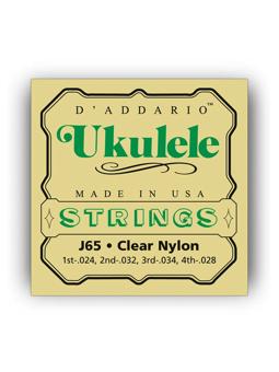 DAddario J65 Ukulele, Soprano