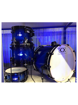 Drum Craft Serie 6 - Fusion Set 22/12/14/rullante E Aste