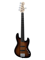 Squier Deluxe Jazz Bass V Active 3-Color Sunburst