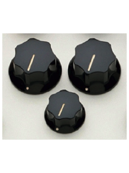 Allparts PK-0174-023 Knobs Set for Jazz Bass