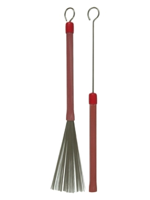 Ludwig L191 - Spazzole Red Grooved - Handle Brushes