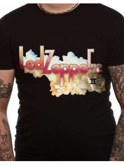 Cid Led Zeppelin - Logo And Cloud Small