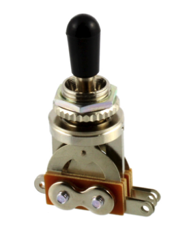 Allparts EP-0066-000 Short Straight Toggle Switch