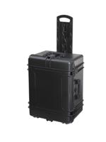 Plastica Panaro Max620H340TR black + Trolley