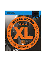 Daddario EXL160-5 Nickel