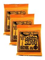 Ernie Ball 3222 Hybrid Slinky 3-Pack