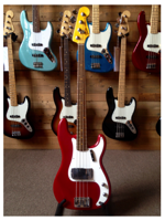 Fender Custom Shop JourneyMan Relic Postmodern Precision Bass Rw Dakota Red