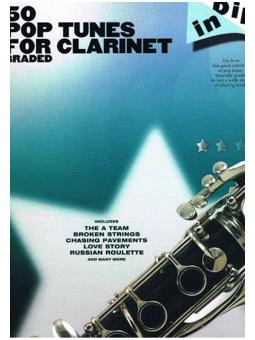 Volonte 50 POP TUNES FOR CLARINET