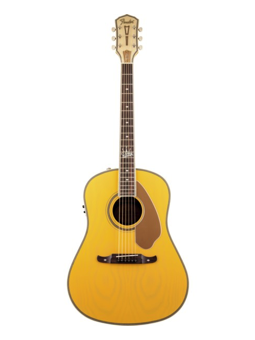 Fender Ron Emory Loyalty Slope Shoulder Dreadnought Ash Butterscotch
