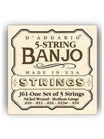 Daddario J61 5-String Banjo
